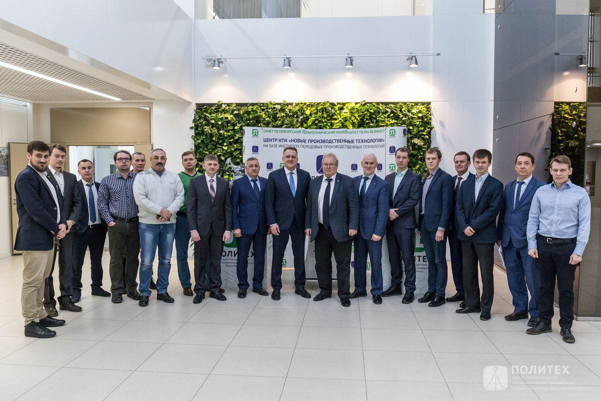 Центр НТИ СПбПУ и ПАО «КАМАЗ» обсудили выполняемые проекты