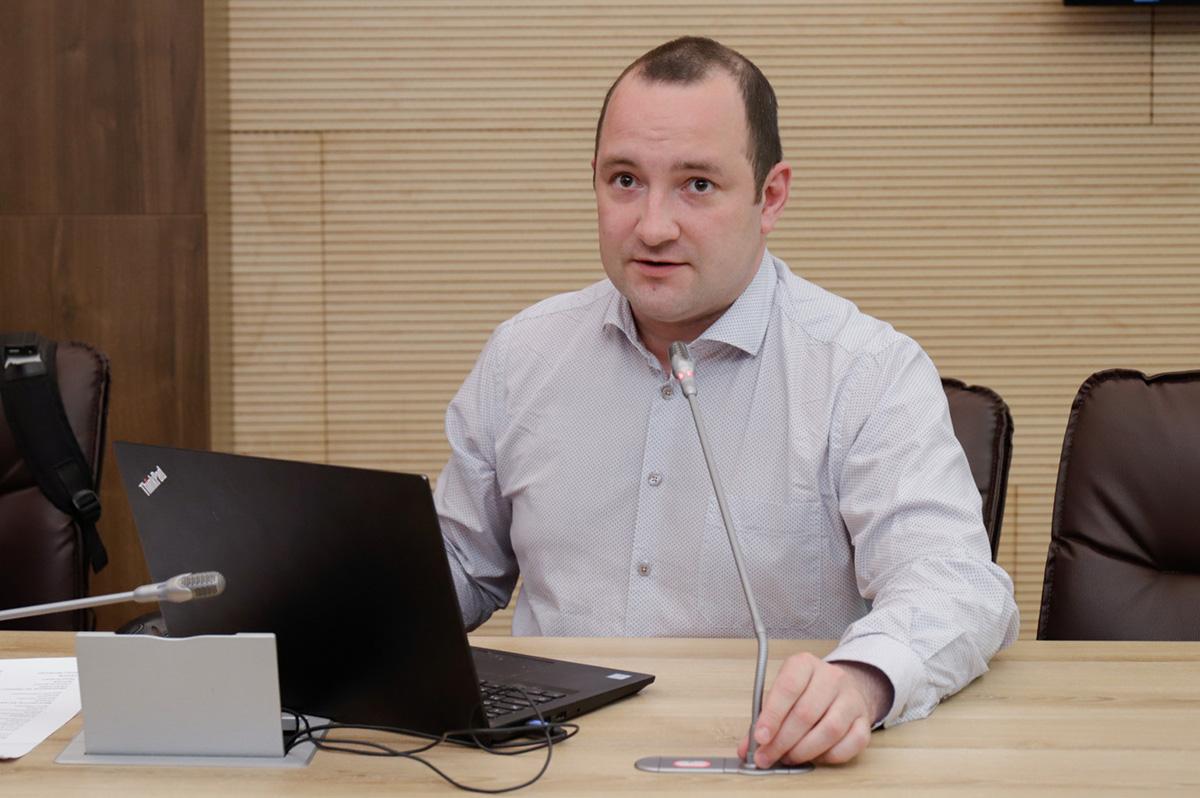 Петр ГАВРИЛОВ выступил с презентацией Цифровой платформы по разработке и применению цифровых двойников CML-Bench™