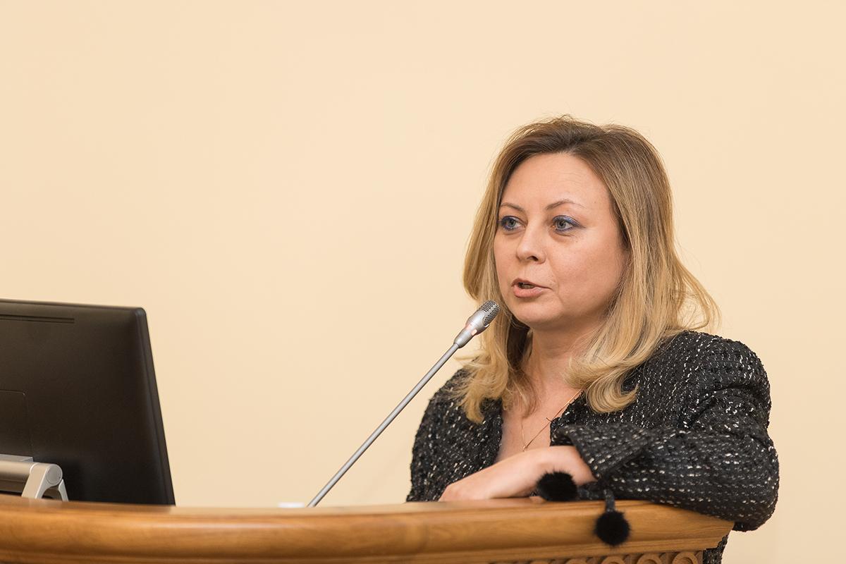 Л.В. Панкова рассказала об итогах зимней сессии 2017/2018 учебного года