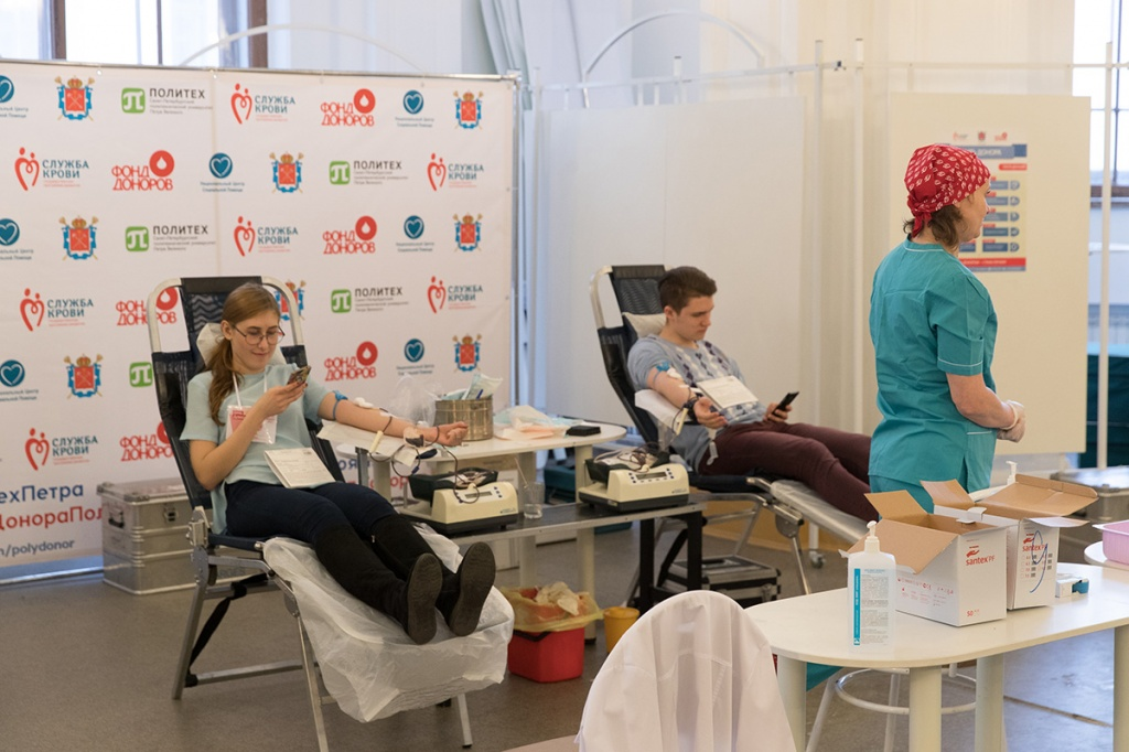 В Политехе прошла ежегодная весенняя акция День донора