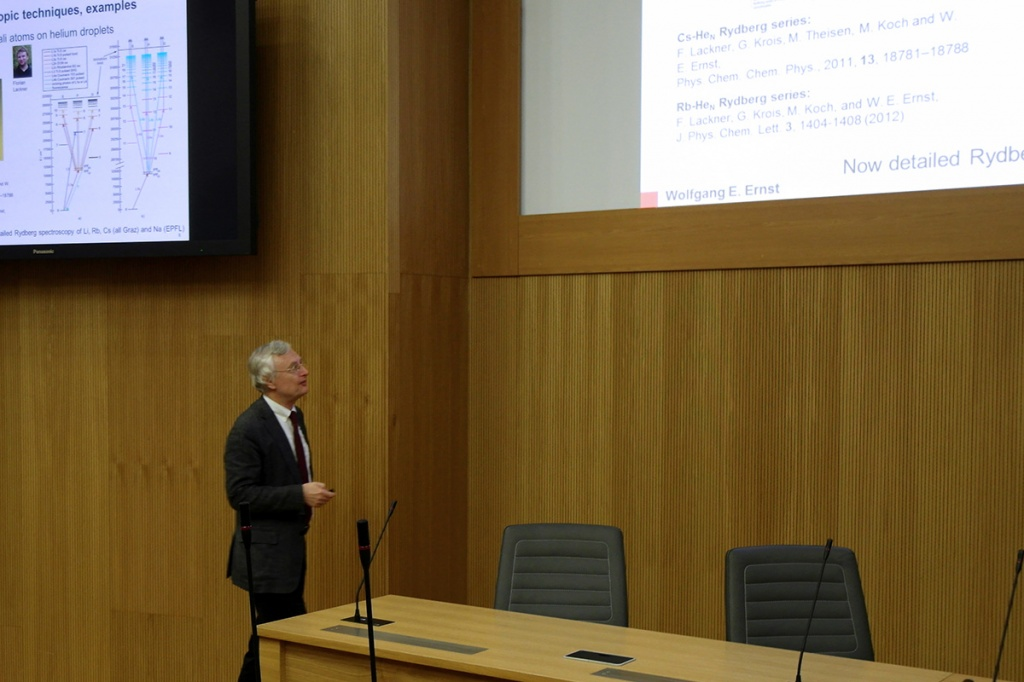 Профессор ТУ Грац Вольфганг Эрнст прочитал лекцию для студентов СПбПУ