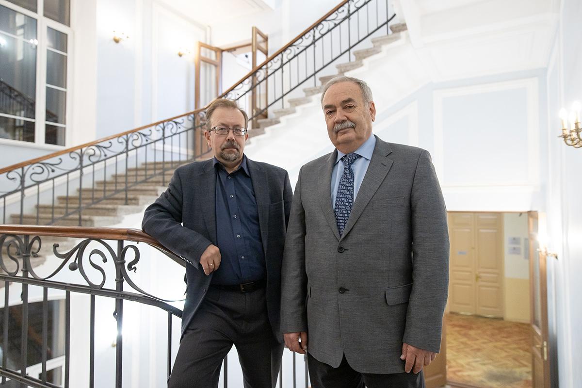 Александр Снегирёв и Леонид Танклевский