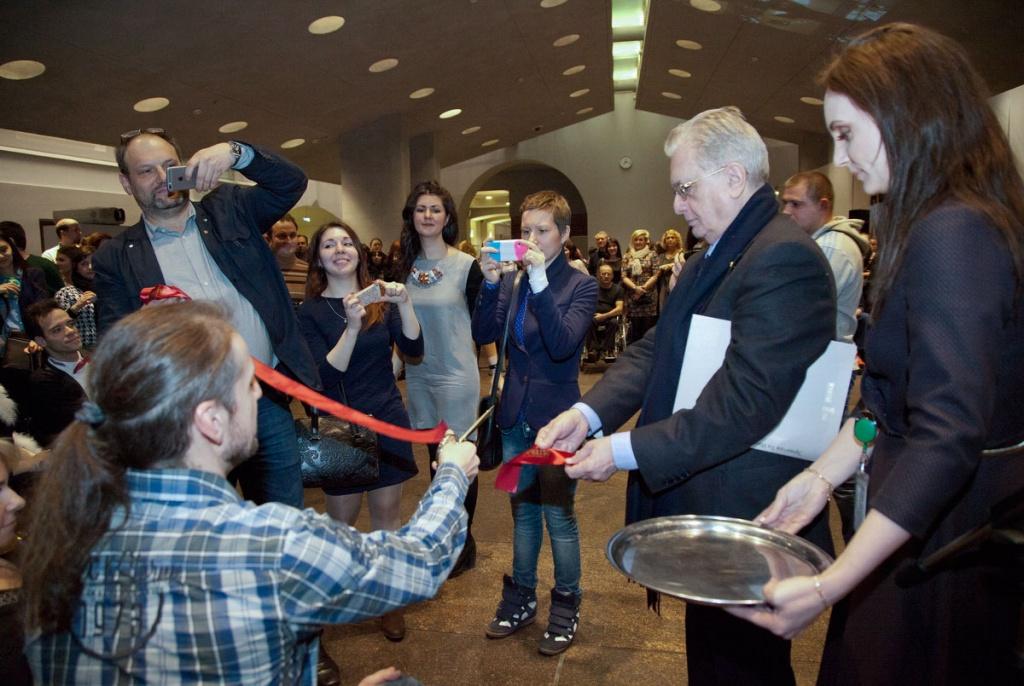В торжественном открытии выставки принял участие директор Эрмитажа М.Б. Пиотровский