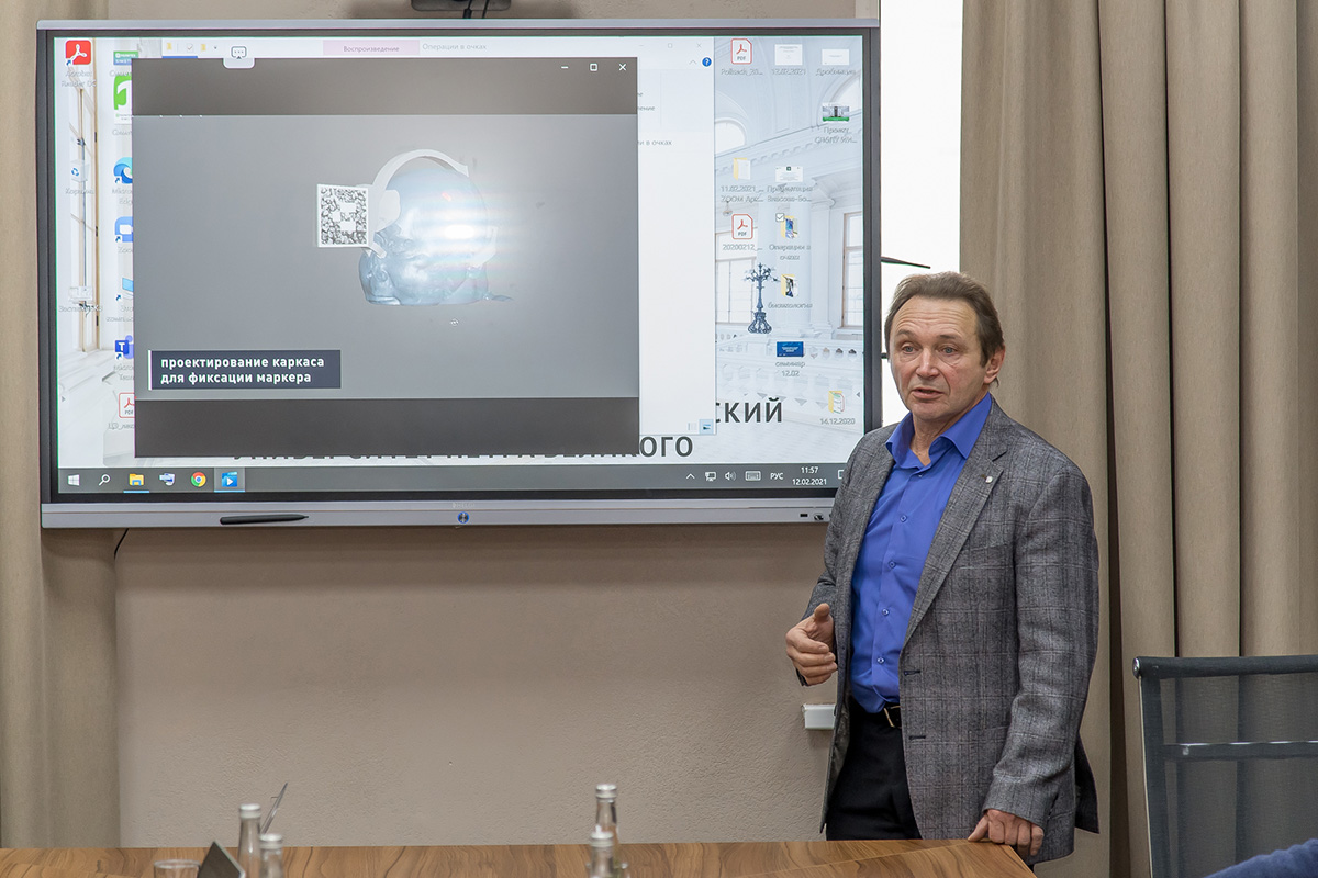Профессор ИПММ Владимир ИВАНОВ выступил с докладом