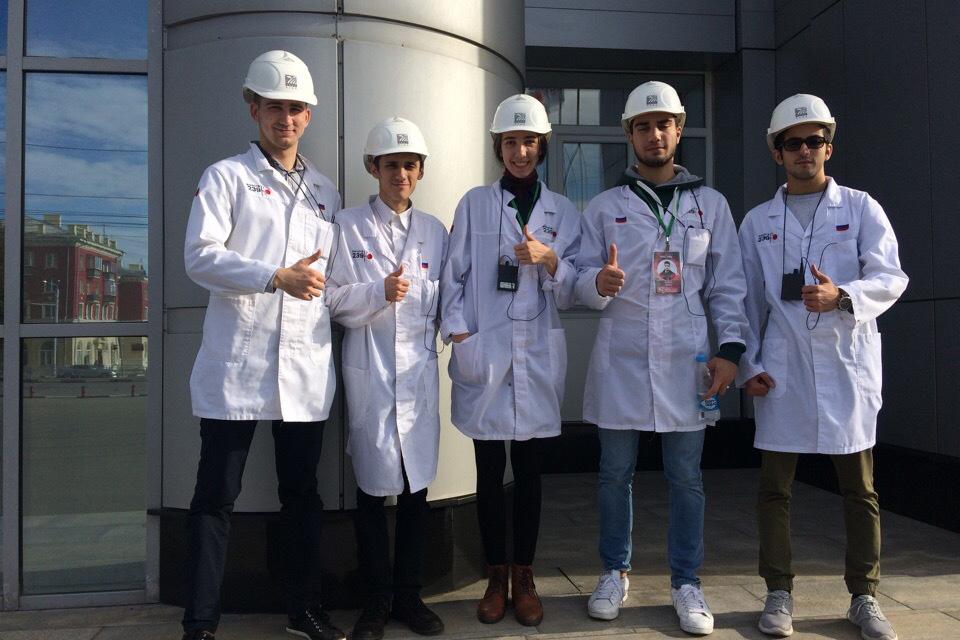 В рамках чемпионата команда СПбПУ посетила экскурсию на ЧТПЗ
