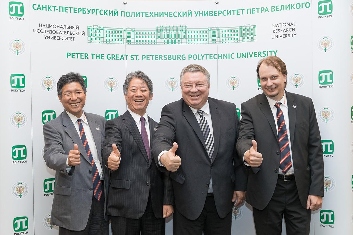 Kawasaki и Политех будут развивать промышленность не только Санкт-Петербурга, но и всей России