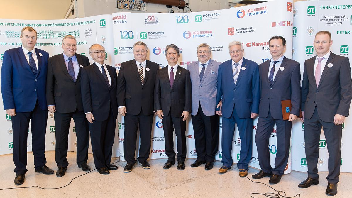 Открытие центра «Kawasaki-Политех» собрало российских и японских представителей власти, промышленности и науки
