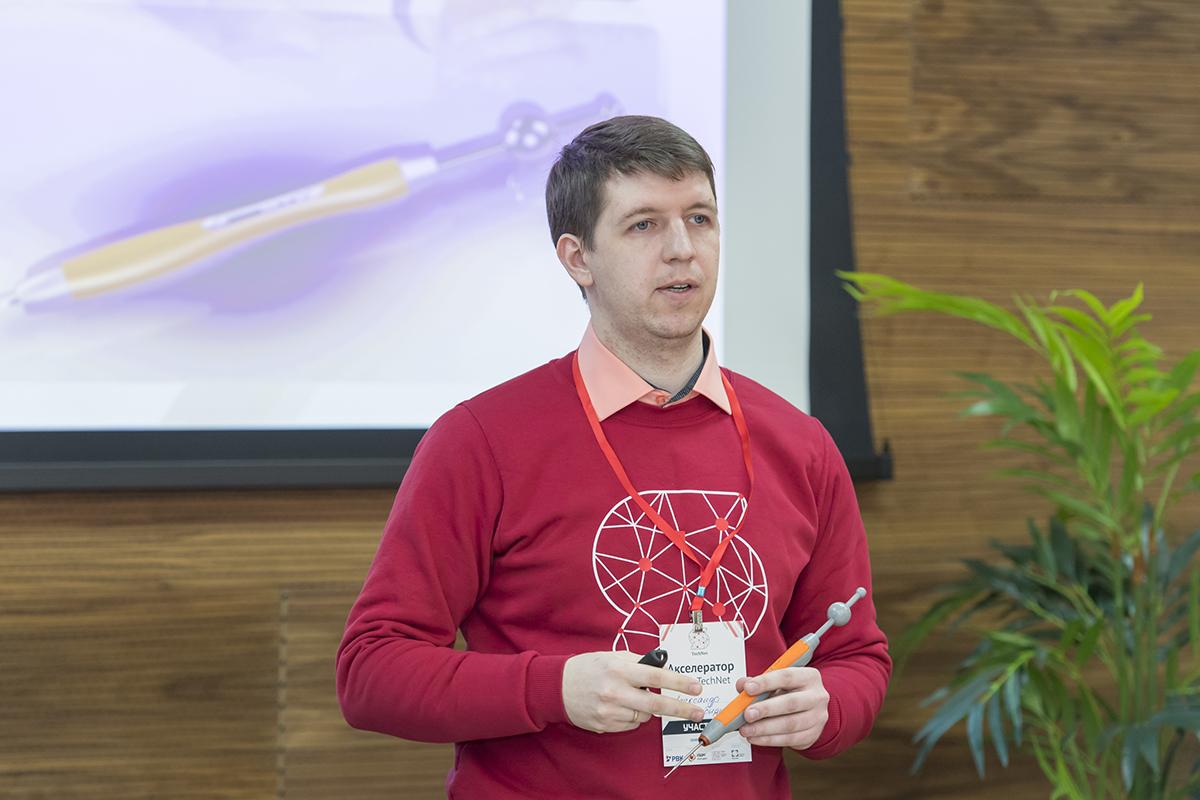 Александр Тигнибидин представил свою разработку СТИЛУС-КИМ