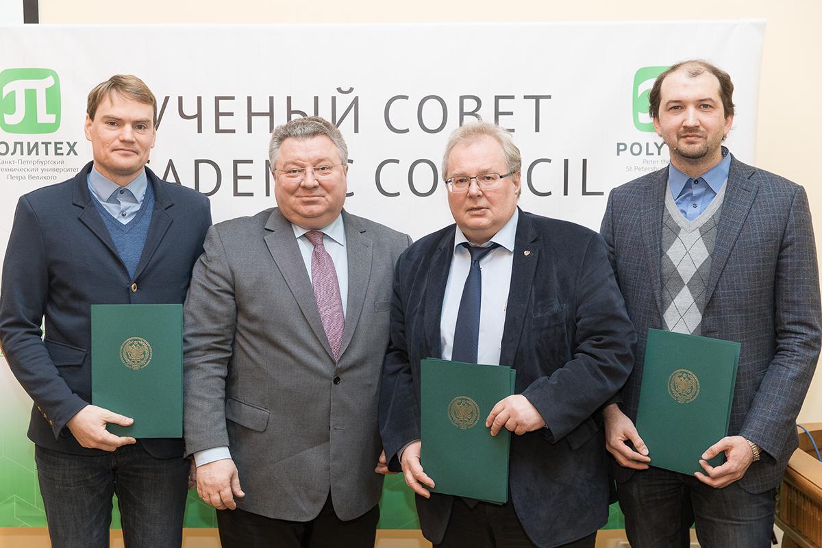 Научная группа профессора Боровкова была удостоена благодарности ректора