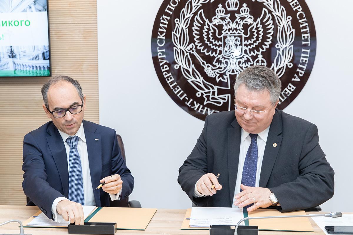 А.И. Рудской и Ив Каракатзанис подписали соглашение о сотрудничестве