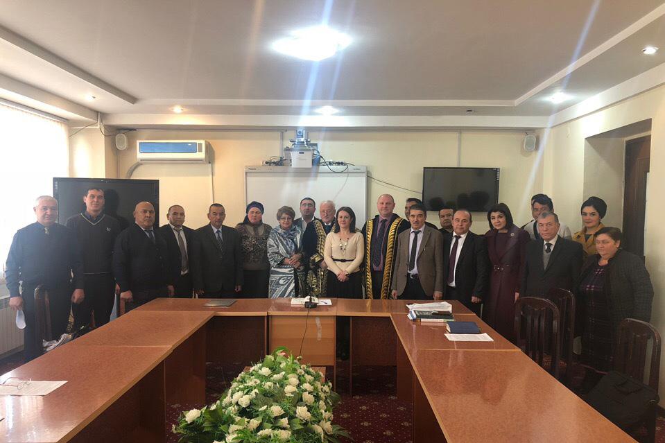 Делегация ВШ ЮиСТЭ ГИ СПбПУ посетила вузы Узбекистана