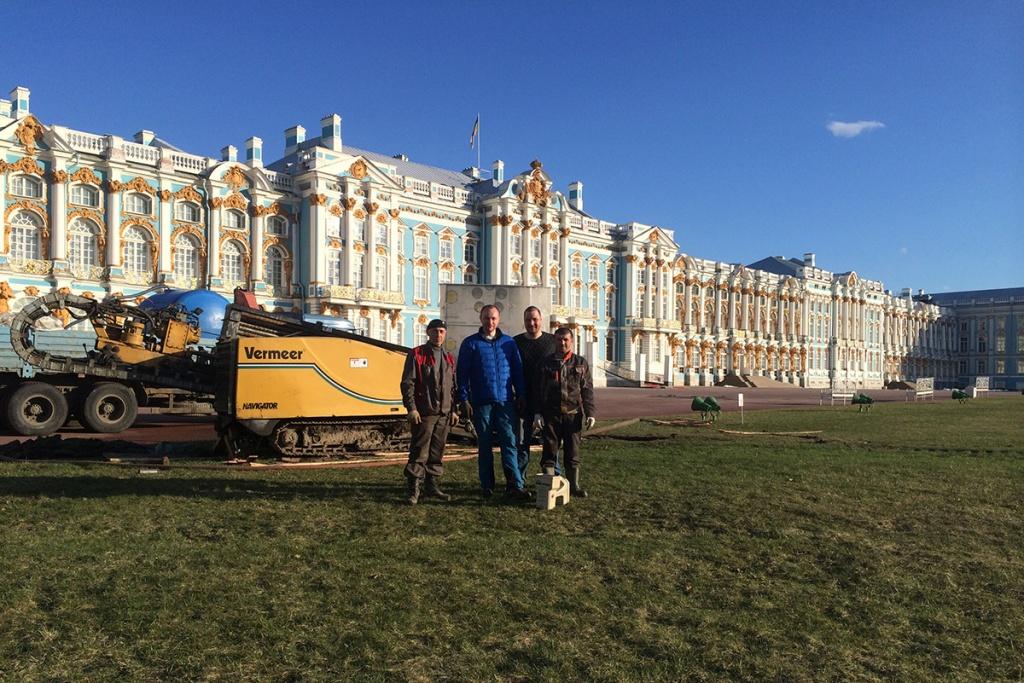 ПолитехГеоИнжиниринг выполнял работы в Екатерининском парке города Пушкина