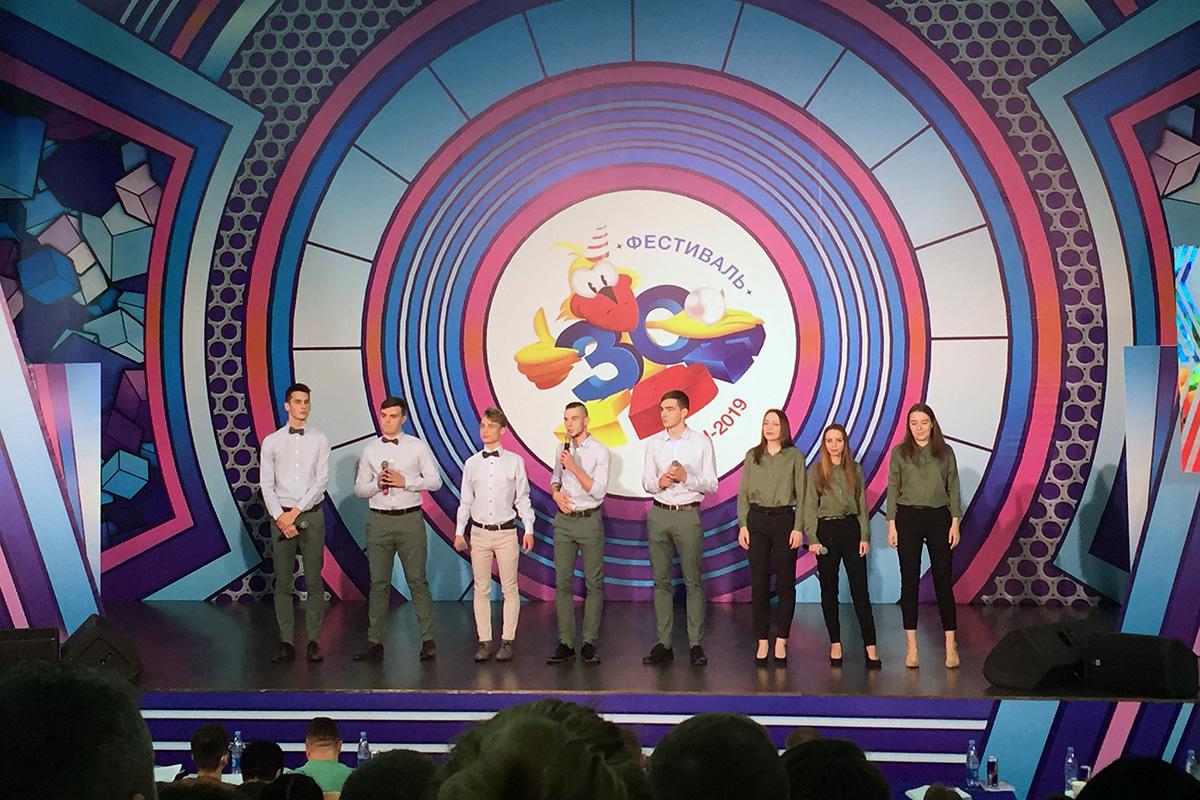 Сборная Политеха дебютировала на фестивале КВН в Сочи