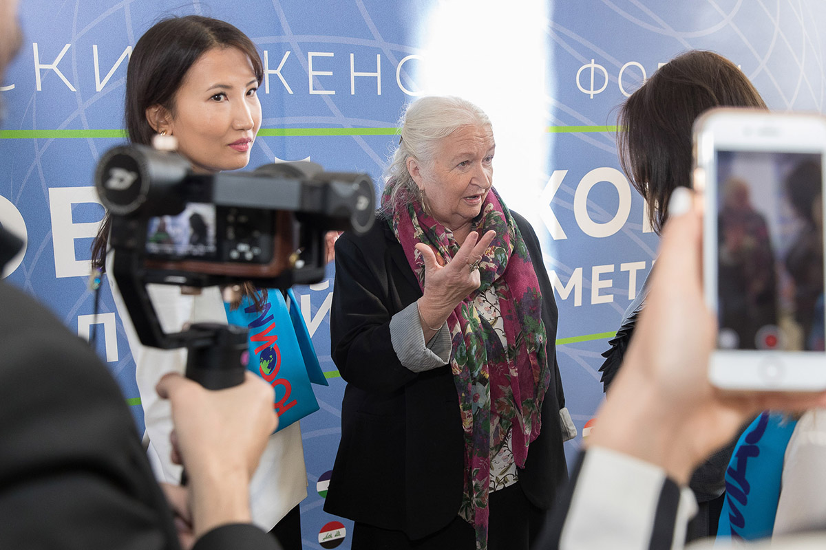Татьяна Владимировна ЧЕРНИГОВСКАЯ предложила популяризировать ментальную арифметику как интеллектуальный спорт