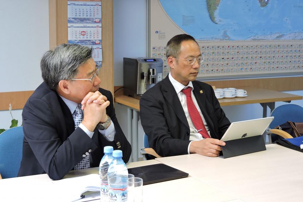 Представители Гонконгского политехнического университета
