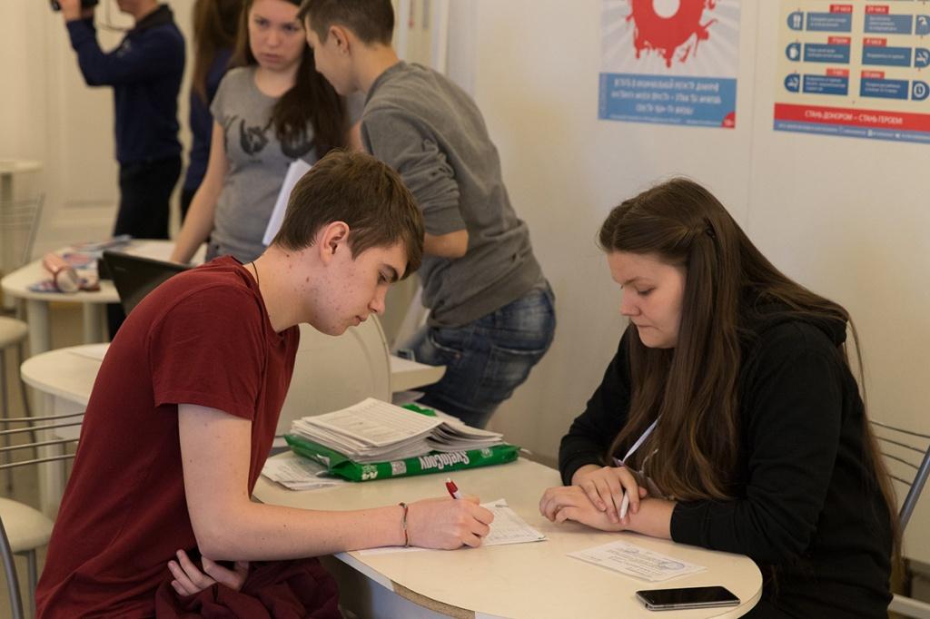 Организаторы акции День донора на этот раз отметили еще большую активность студентов