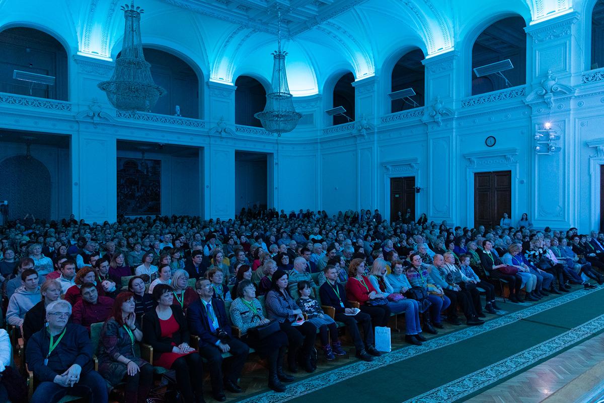 Завершился день встречи выпускников Политехнического университета органным концертом в Белом зале